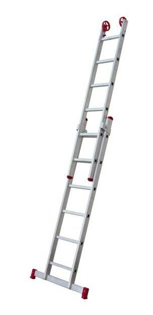 Escada de alumínio dobrável 4 metros