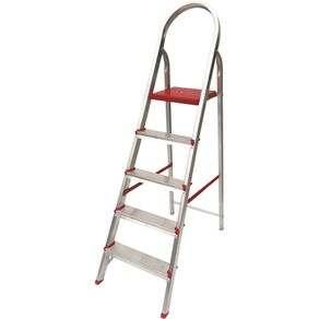 Escada de alumínio 9 degraus extensiva
