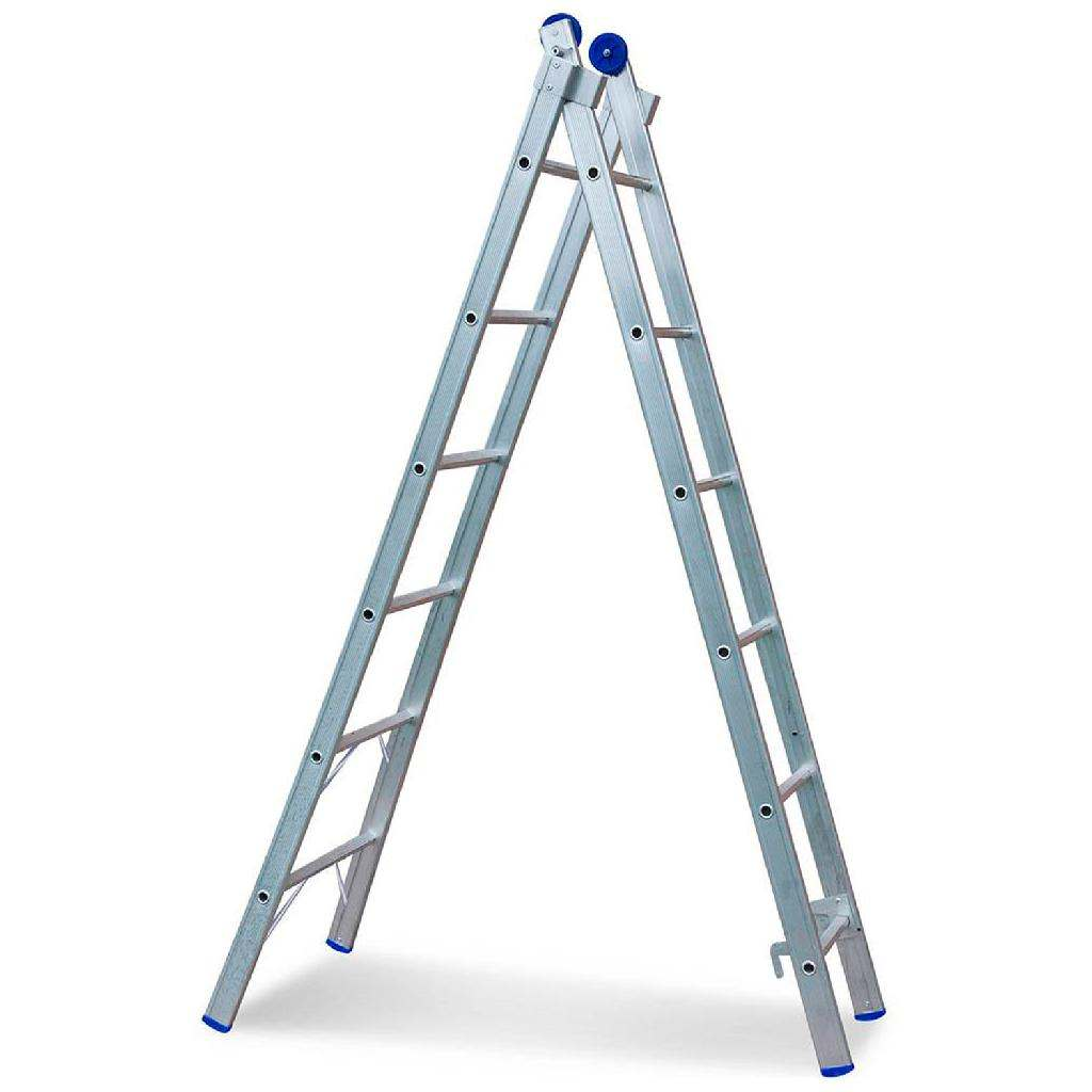 Escada de alumínio articulada
