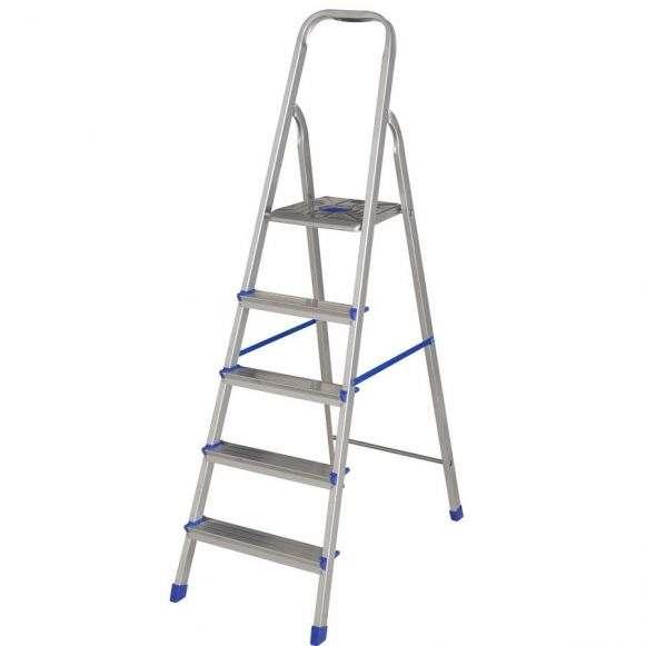 Escada de alumínio articulada 20 degraus