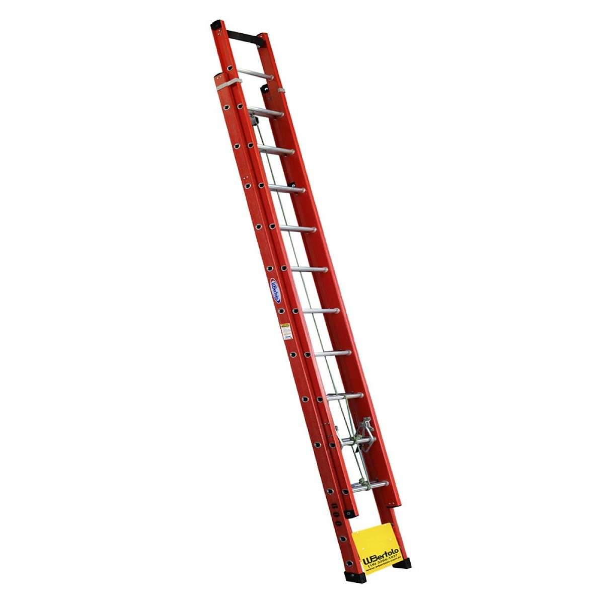 Escada de fibra de vidro 20 degraus