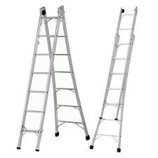 escada de alumínio dobrável