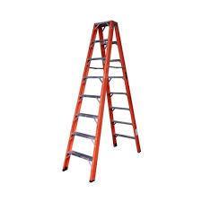 escada laranja